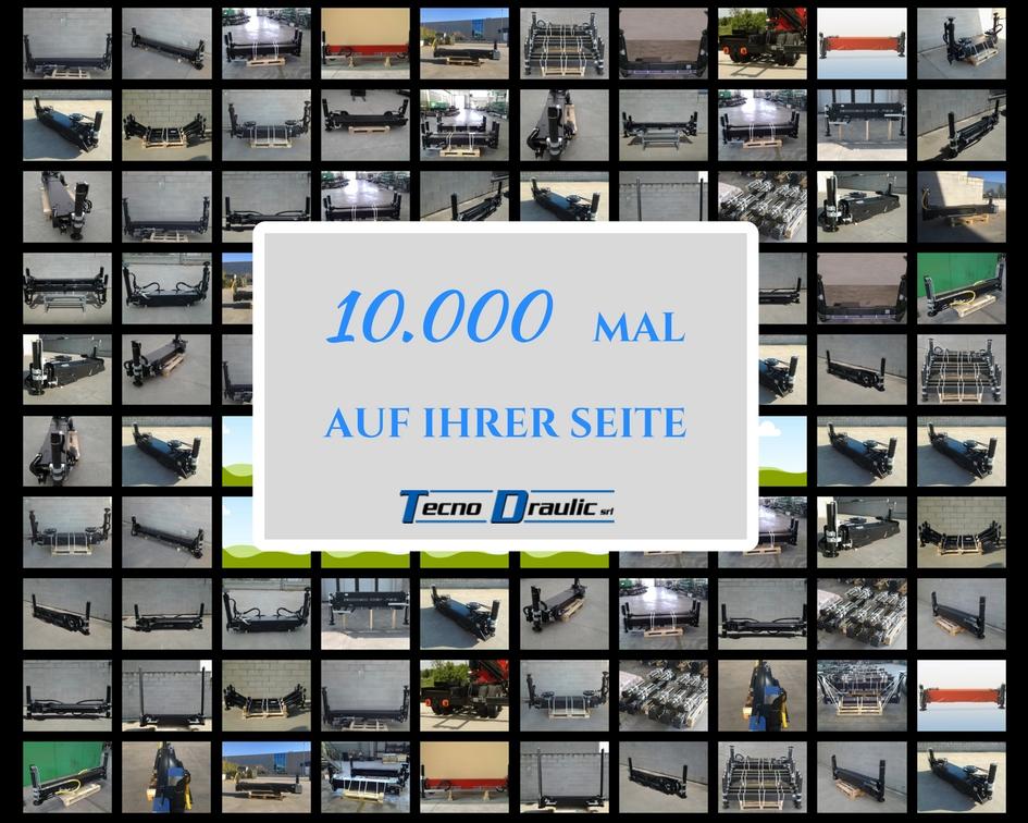 10.000 ABSTUTZUNGEN TECNODRAULIC AUF DEM MARKT