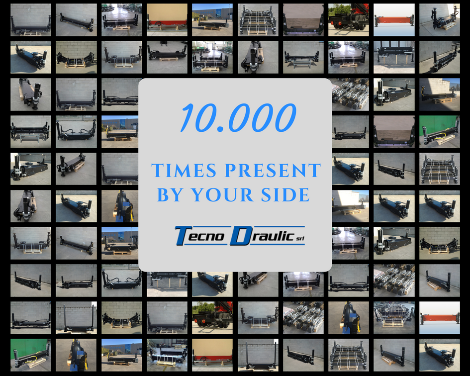 10.000 STABILIZERS PRODUCED BY TECNODRAULIC
