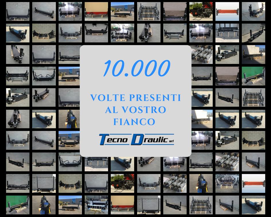 10.000 TRAVERSE TECNODRAULIC SUL MERCATO