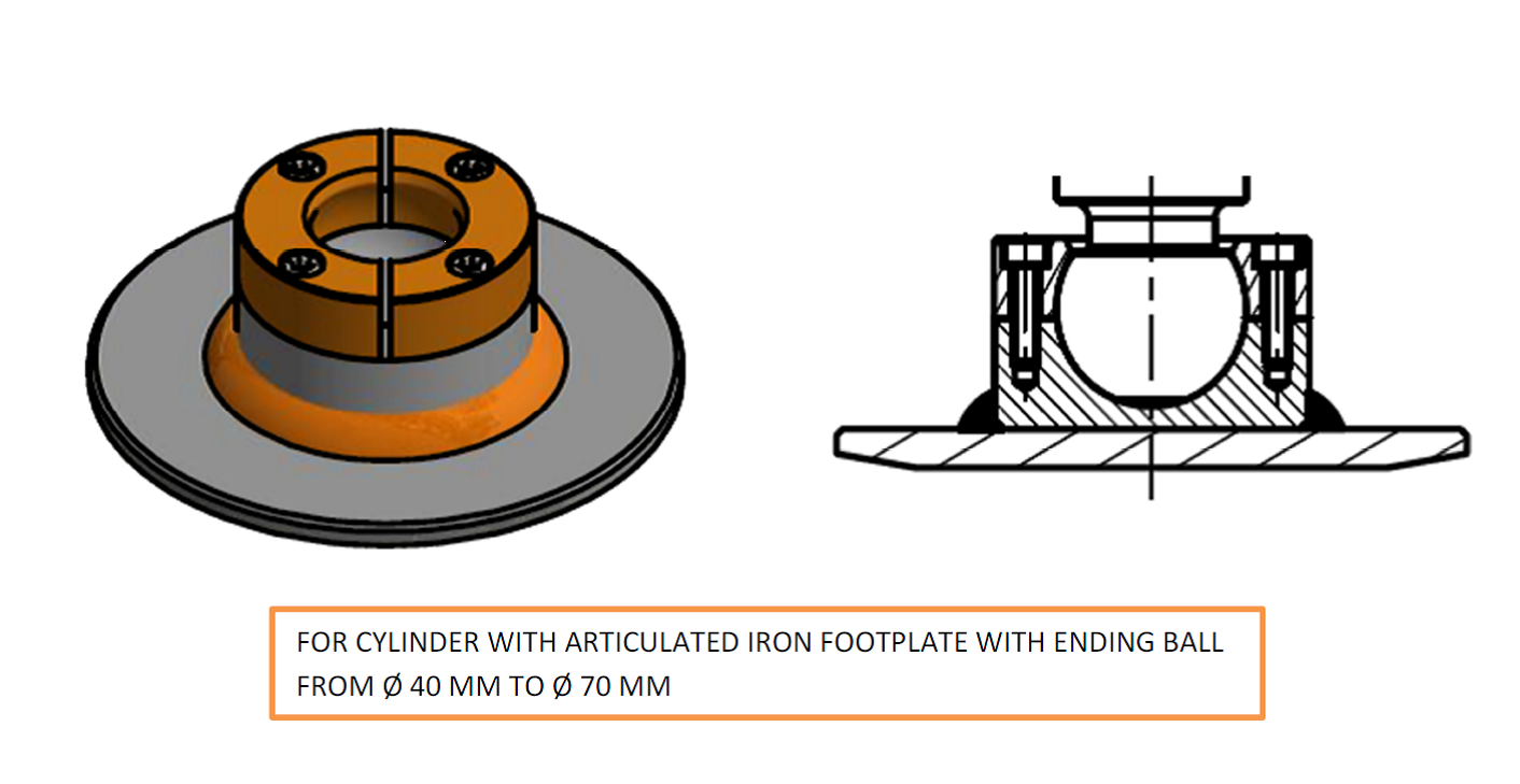 NEW SYSTEM FOR ARTICULATED IRON FOOTPLATES